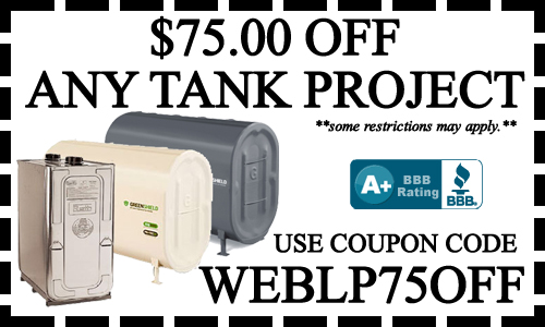 OIL TANK REMOVAL COUPONS